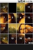 Screenshot of Art Puzzles