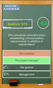 PMP exam game simulator - screenshot thumbnail