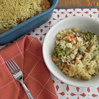 Broccoli Bean Casserole – #glutenfree.