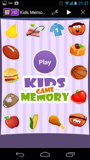 Kids Memory Game HD - FREE