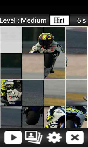 Moto Rider Puzzle