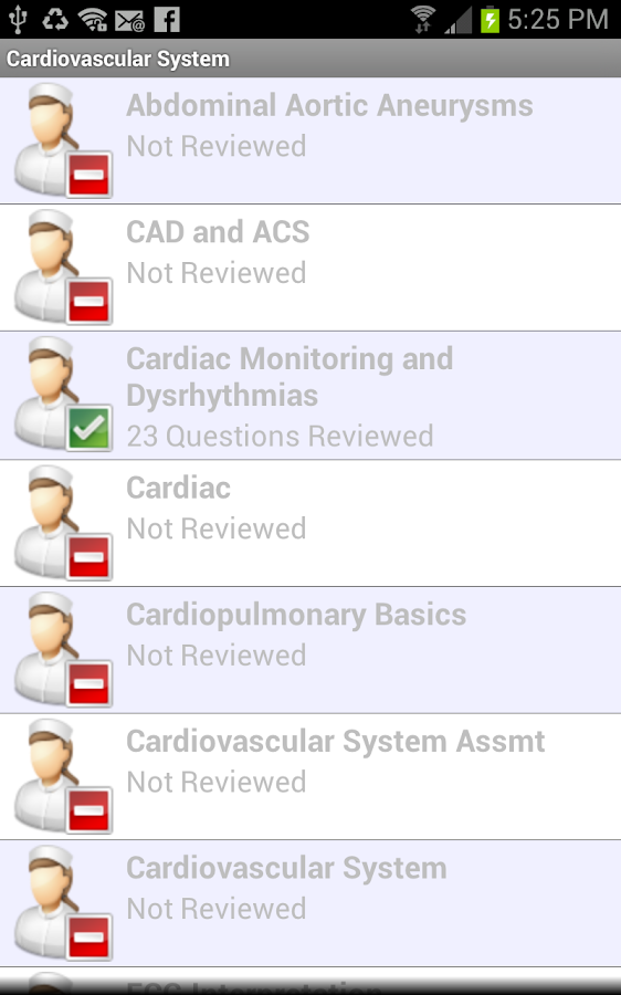 Med Surg II Nursing in a Flash- screenshot
