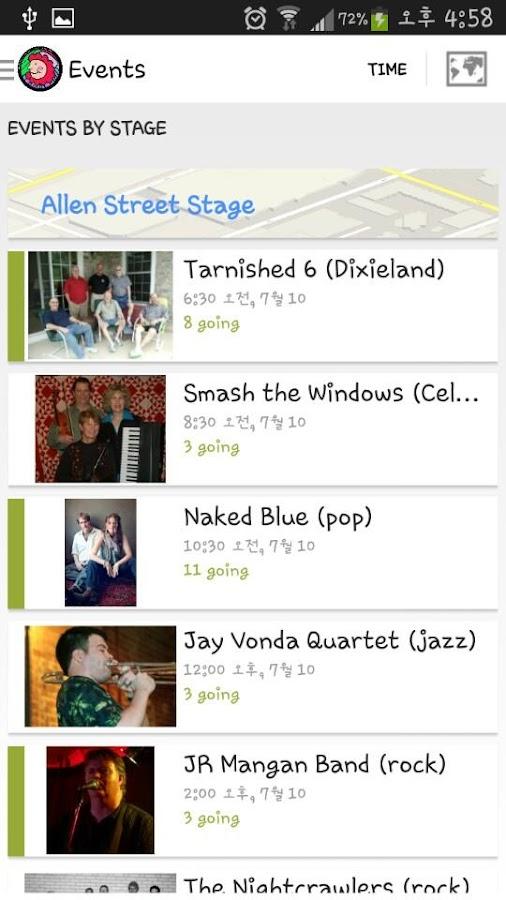 Arts Festival State College - screenshot