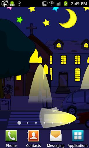 Cartoon City Live Wallpaper