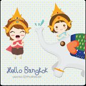 kakaotalk theme hello bangkok