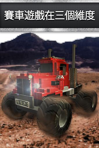 越野怪獸卡車賽車 - 自由生存座卡車賽車遊戲