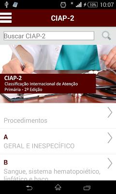 CIAP - screenshot