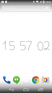 Bezier Clock   Android Wear Center
