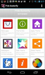Launcher Theme Pink Butterfly|玩個人化App免費|玩APPs