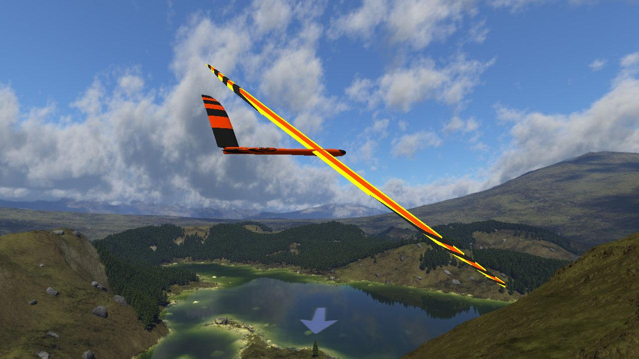PicaSim: Free flight simulator - screenshot