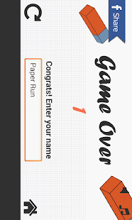 Paper Pixel Run !!! screenshot