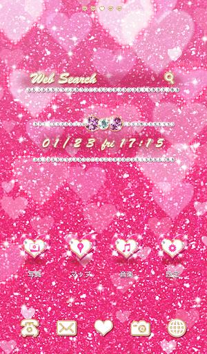 Cute wallpaper★Pink Glitter