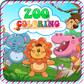 Zoo Animals Coloring Games