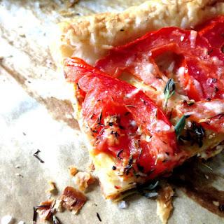 Quick Tomato Tart