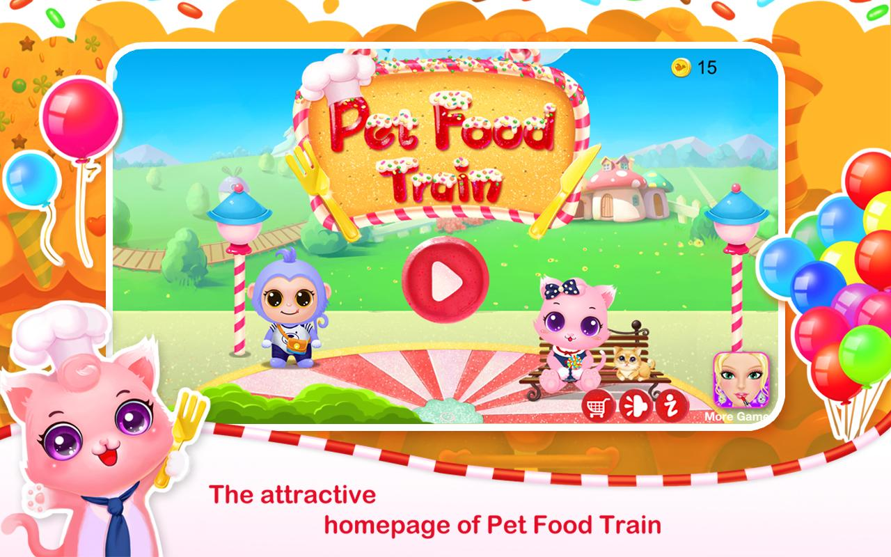 Pet Food Train- screenshot