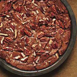 Fudgy Pecan Brownie Pie.