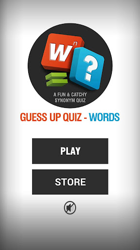 Guess Up Quiz - Words