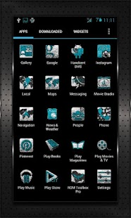 INKED CM10 AOKP Theme Chooser - screenshot thumbnail