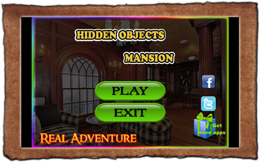 Hidden Object Games Mansion