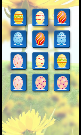 Easter Eggs Memory Game