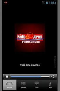 Rádio Jornal AM - Recife, Pern - screenshot thumbnail