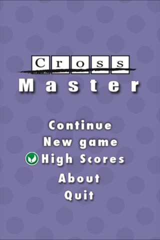 CrossMaster FREE- screenshot