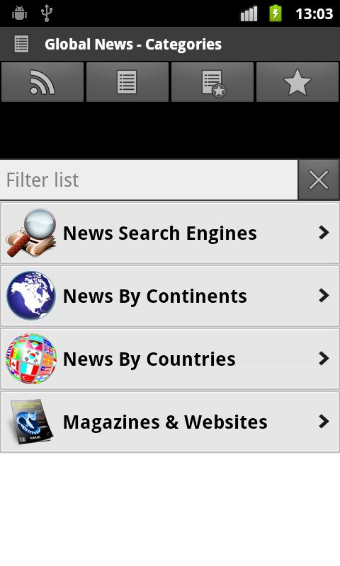 Global News & Newspapers - screenshot