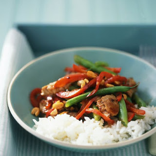 Pork and Green-Bean Stir-Fry