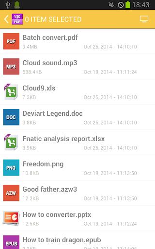 VSD到PDF在线转换