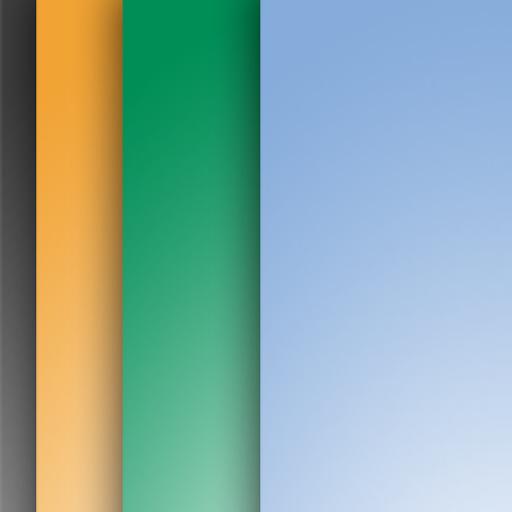 Auto Wallpaper Changer - Color LOGO-APP點子