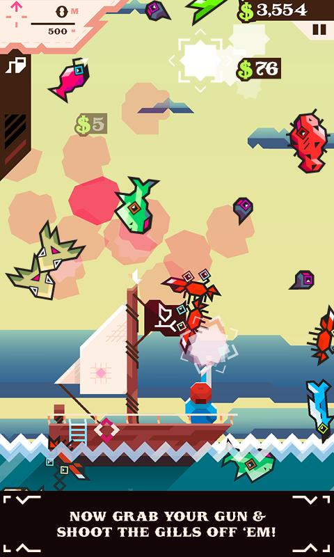 Ridiculous Fishing screenshot #4