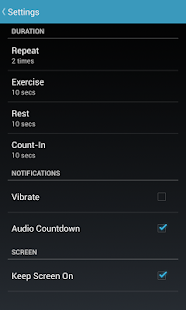 7 Minute Workout - screenshot thumbnail
