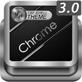 TSF Shell HD Theme Chrome