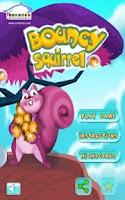 Screenshot of Bouncy Squirrel