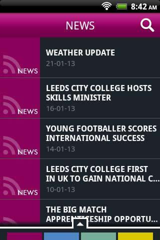 Leeds City College Student- screenshot