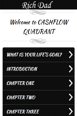Rich Dad CashFlow Quadrant - screenshot