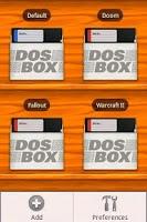 Screenshot of DosBox Manager