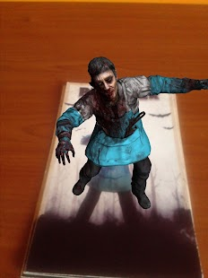 TableZombies Augmented Reality - screenshot thumbnail
