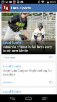 Screenshot of Vallejo Times Herald
