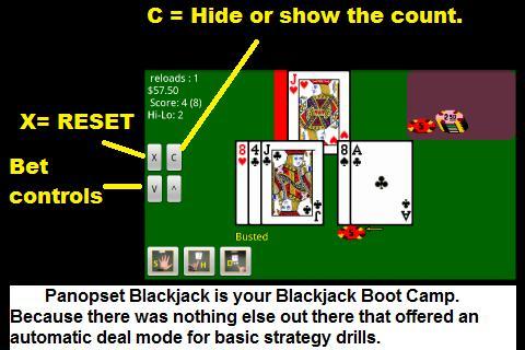 Blackjack demo