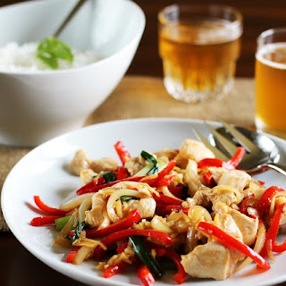 Thai Ginger Chicken Stir-Fry (Gai Pad Khing).