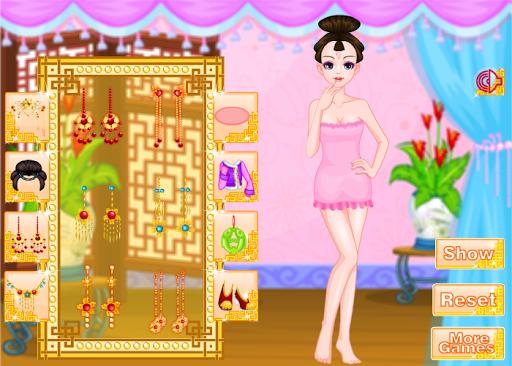 女の子のための中国の王女のゲーム