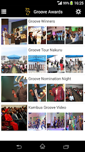 Groove Awards- screenshot thumbnail