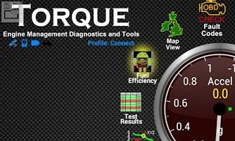 Screenshot of Torque-Line Chart w/ Recording