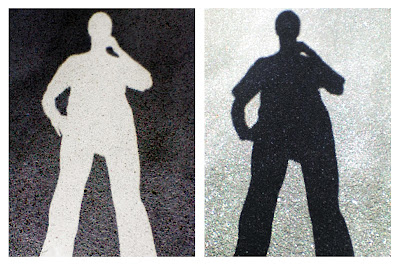 silhouettes prises en photo avec un sony-ericsson w200i