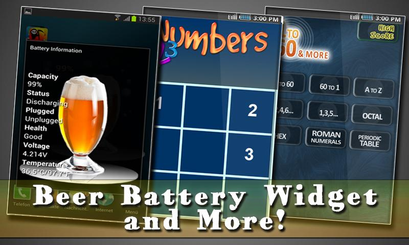 Free Beer Battery Widget- screenshot