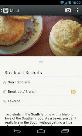 Evernote Food 2.0.7 screenshot 25149