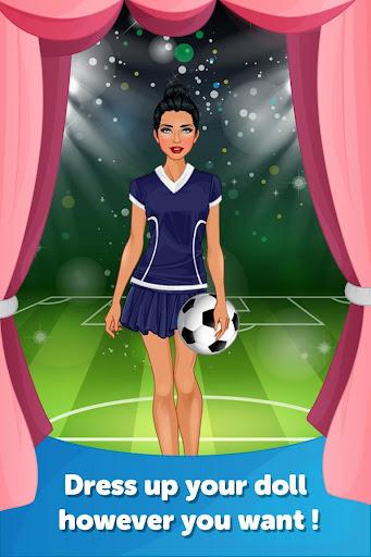 Sport Girl Dress Up Makeover
