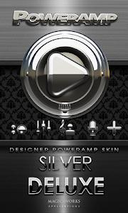 Poweramp skin Silver Deluxe v1.40