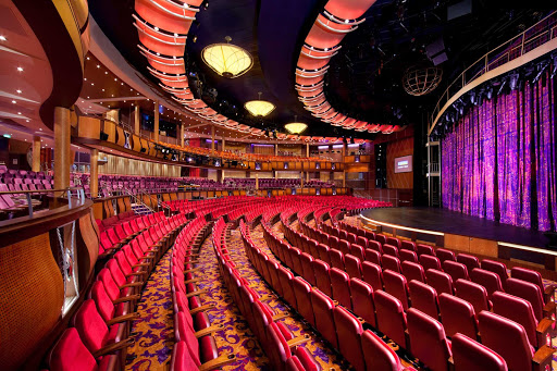 "Allure-of-the-Seas-Amber-Theater - Watch Broadway-style shows and musicals such as ""Chicago: The Musical"" in Allure of the Seas's state-of-the-art Amber Theater."